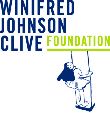 winifred johnson clive foundation Logo_With Girl on Swing_CLIVE