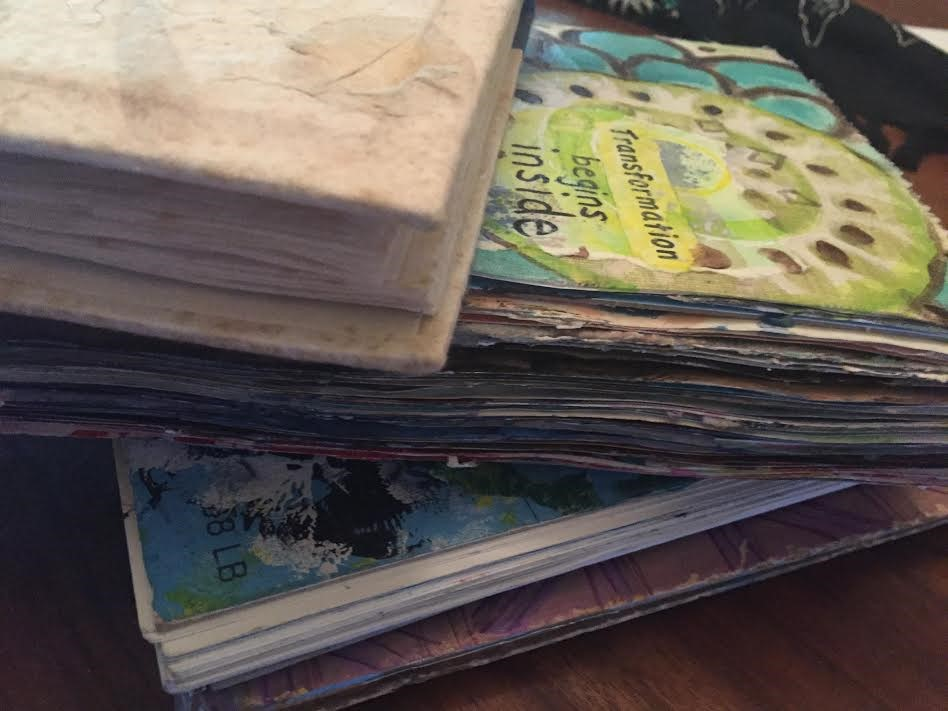 Altering Books into Expressive Art Journals