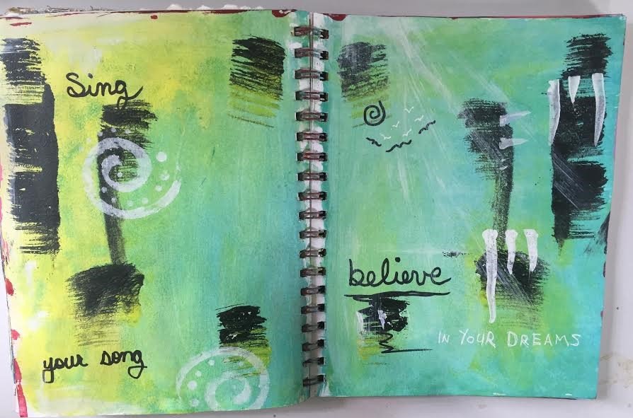 First Thursdays Expressive Art Journaling For self discovery and stress release