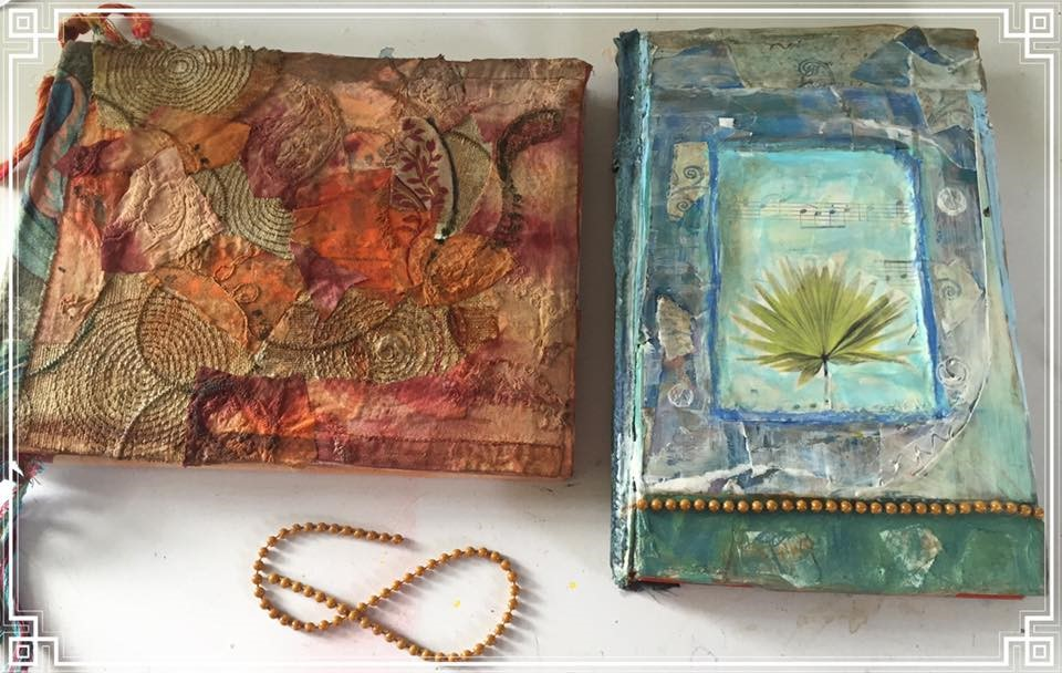 Altered Books as Art Journals