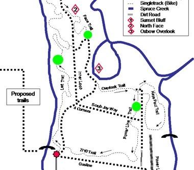 D Leeper spruce Creek Preserve Map