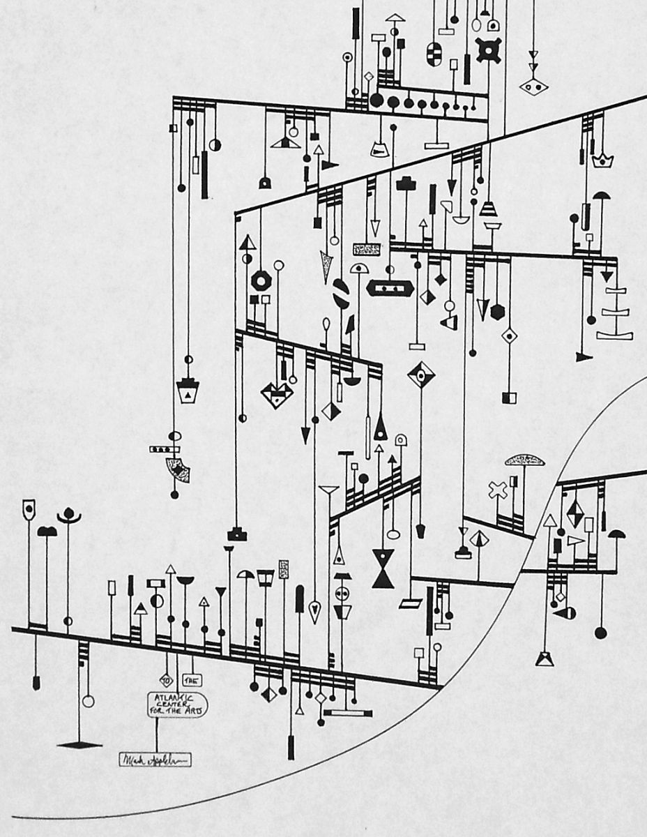"Excerpt from ""Medium,"" a score for four players, Artist: Mark Applebaum – composer / performer 2009"